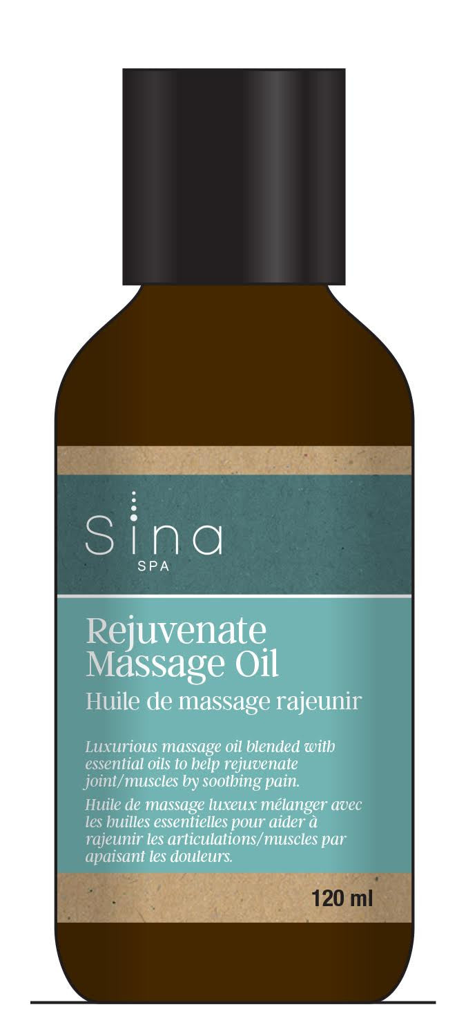 Rejuvinate (for Muscles and Joints) Massage Oil (1 x 120 ml)