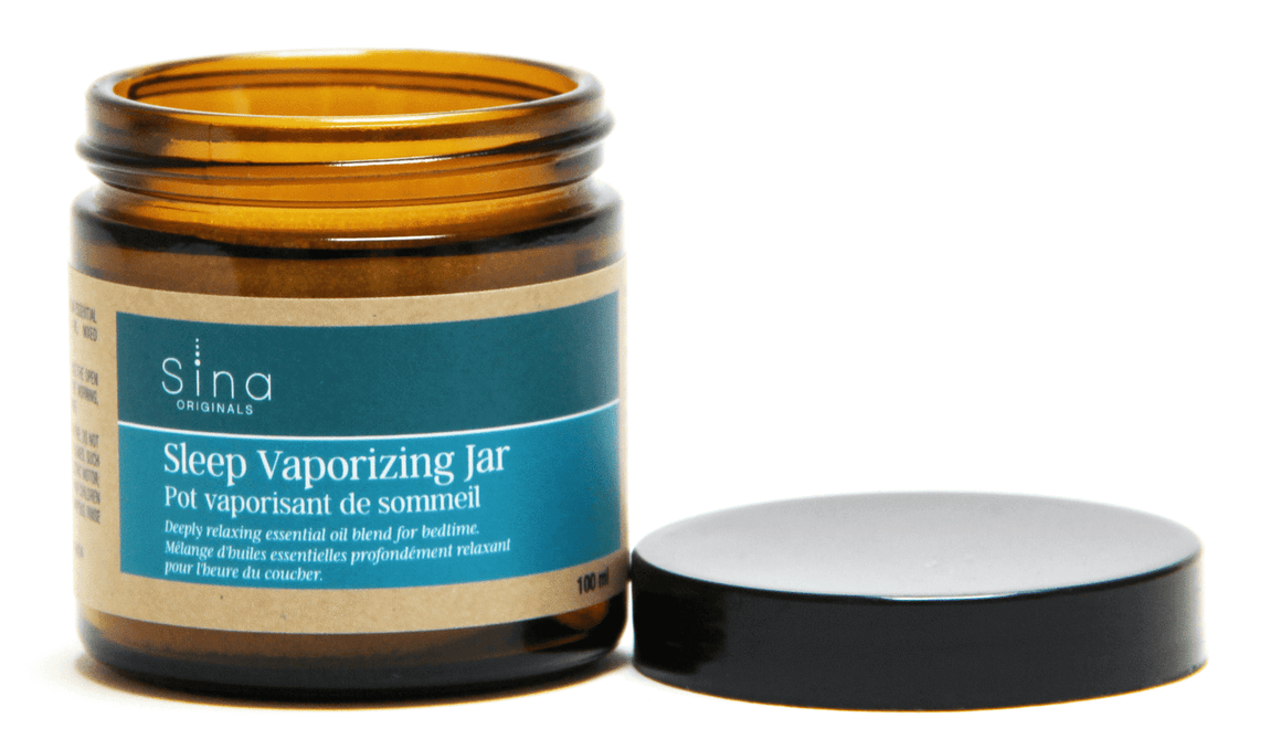 Essential Oils Aromatherapy Vaporizing Jar for Relief of Insomnia and Sleeplessness