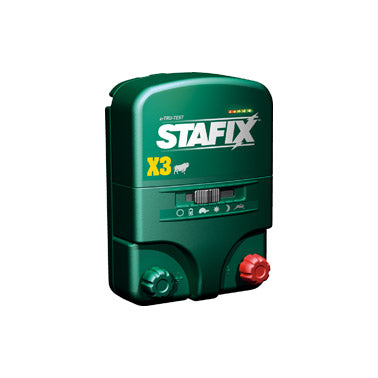 Stafix X 3 Mains/Battery Energizer
