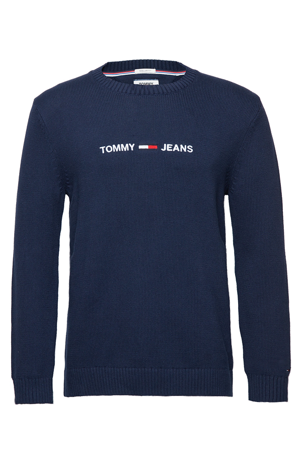 Tommy Jeans Small Logo Sweater Navy