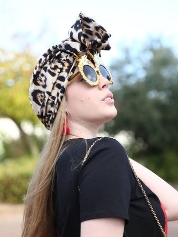 Leopard Fashion Turban