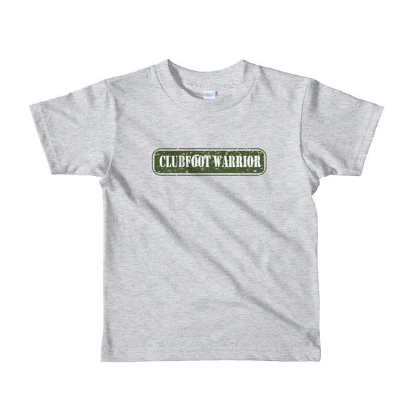 Clubfoot Warrior - Army Kid/ Youth Short sleeve kids t-shirt