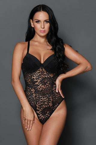 Day Dream Teddy Bodysuit - Fashion Cheekz