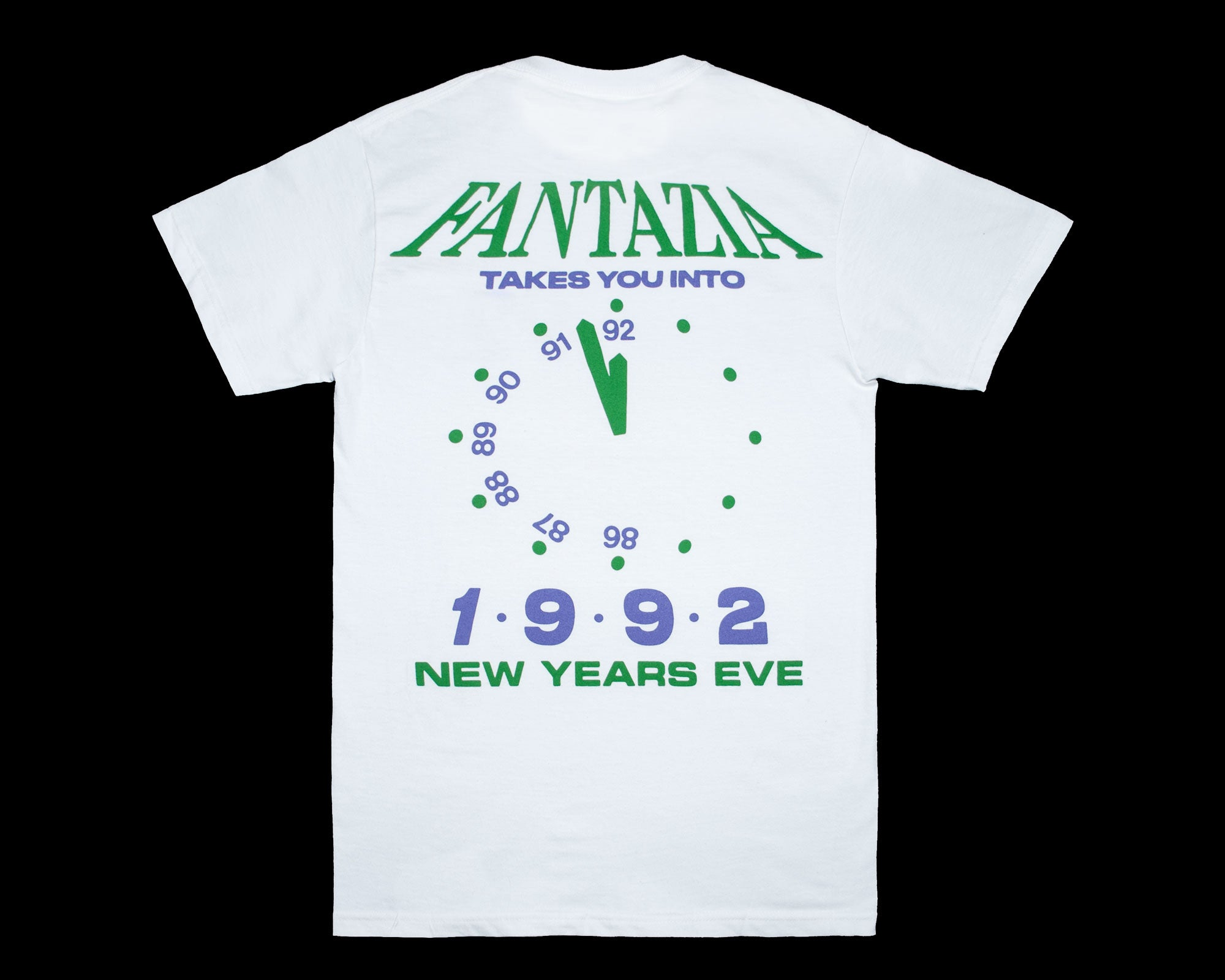 NYE 1992 Fantazia — Purple/Green