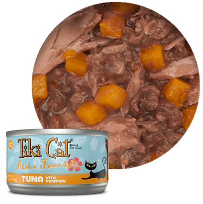 Tiki Cat Tuna with Pumpkin 2.8oz