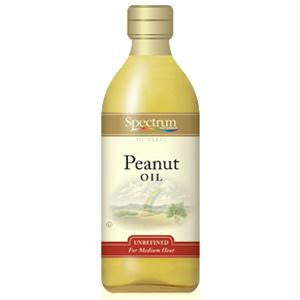 Spectrum Naturals High Heat Peanut Oil (12x16 Oz) - Rhea Manor Natural Market