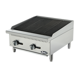 "Atosa ATRC-24, 24"" Charbroiler - Food Service Supply"