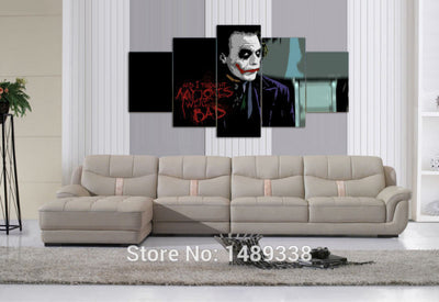 Joker Multiple Piece Canvas LIMITED EDITION - The Nerd Cave - 2