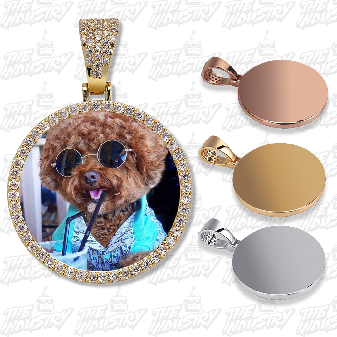 Custom Photo Pendants + Necklace