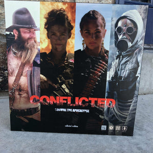 Board Game Bundle -- Both Editions of the Board Game - Conflicted the Game