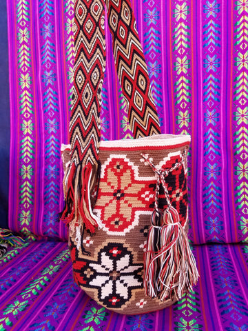Tribal Hand Woven Vegan Bucket Bag - Istari