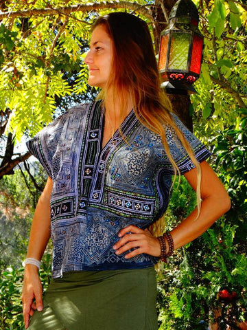 Tribal Hand Crafted Shirt - Tres