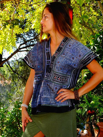 Tribal Hand Crafted Shirt - Cuatro
