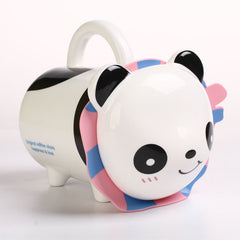 Handmade cute coffee milk mug big animal Panda 3d Funny Birthday Gift Gift for Her Holiday Gift Christmas Gift