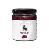 WS K4 Cultured Ruby Sauerkraut - 150g