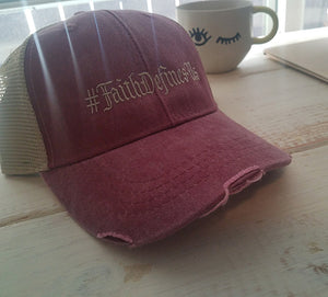 Faith Defines Us Trucker Hat - FDU - Faith Defines Us