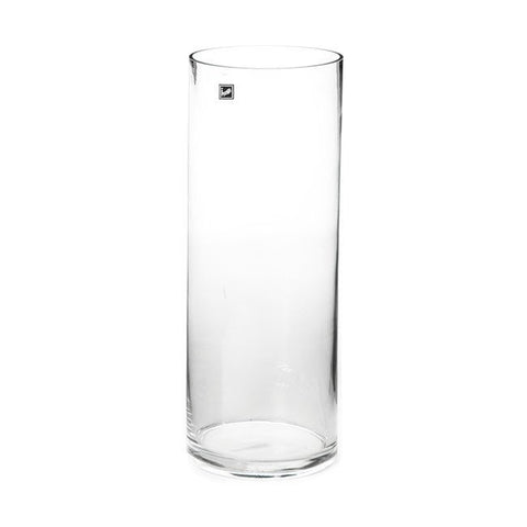 Clear Glass Cylinder Vase (50cm X 15cm)