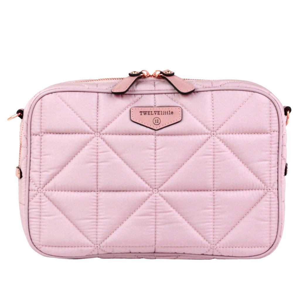 TWELVElittle 12Little Diaper Clutch in Plush Pink