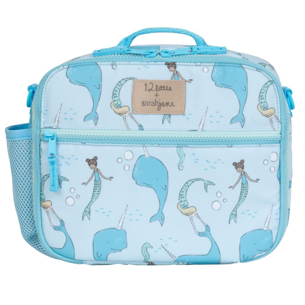 12Little x Sarah Jane Under the Sea Lunch Bag in Blue