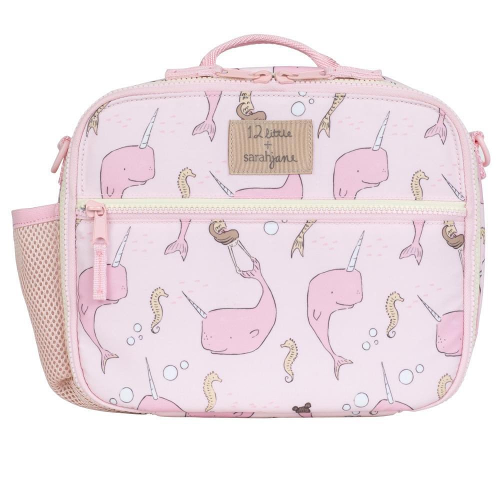 12Little x Sarah Jane Under the Sea Lunch Bag in Pink