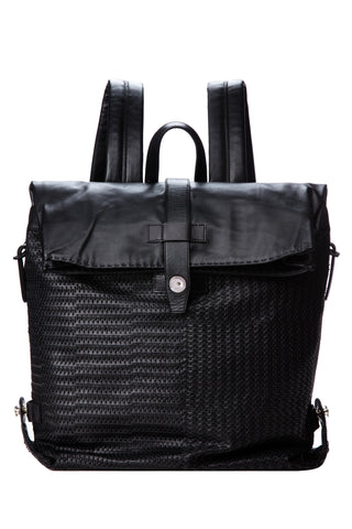 Ricamo Backpack Nero