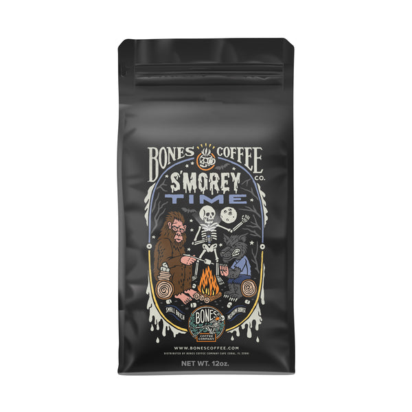 S'morey Time - S'mores Flavored Coffee by Bones Coffee Company | 12oz