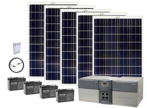 Solar Generator Kit Ultimate - 4800 Watt