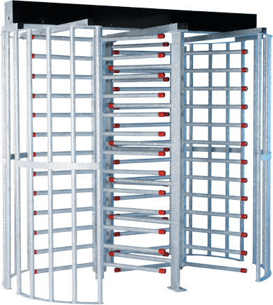 HS400 SERIES: Tandem Full Height High Security Turnstiles