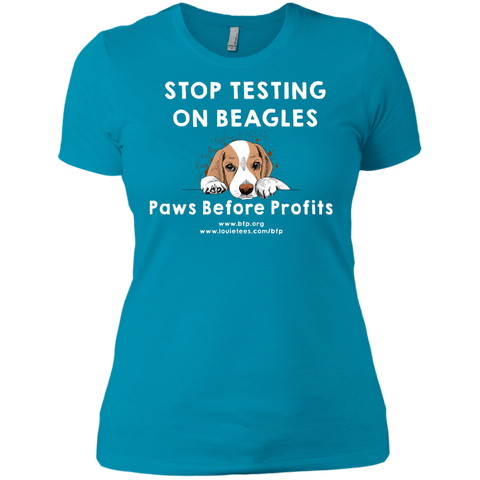 Paws Before Profits - Women's Tee
