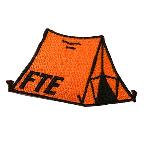 Orange Tent Patch