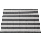 SALE! Perfect Litter Mat - Black & White Stripe