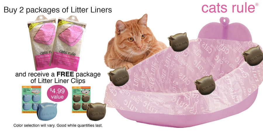 Perfect Litter Box Liners Value Set of 3 Oversized for Priscilla's Open Pan