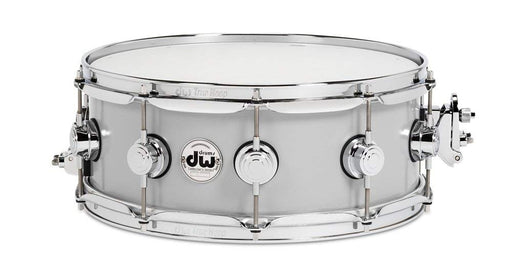 "DW Collector's Series 5.5"" x 14"" Rolled Aluminum Snare Drum with Chrome Hardware"