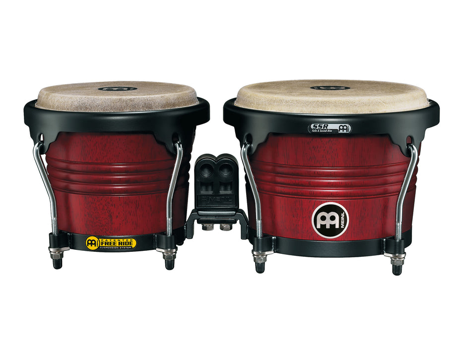 "Marathon Series Bongo,6 3/4"" & 8"" Cherry Red"