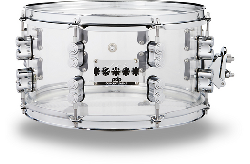 PDP by DW Chad Smith Signature Acrylic Snare Drum 13 x 7 in. Clear