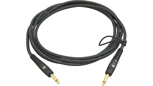 "D'Addario Planet Waves Gold-Plated 1/4"" Straight Instrument Cable 10 ft."