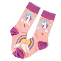 Shop Unicorn Attack Socks at Boogzel Apparel