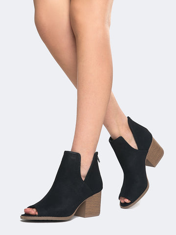 Western Low Ankle Bootie