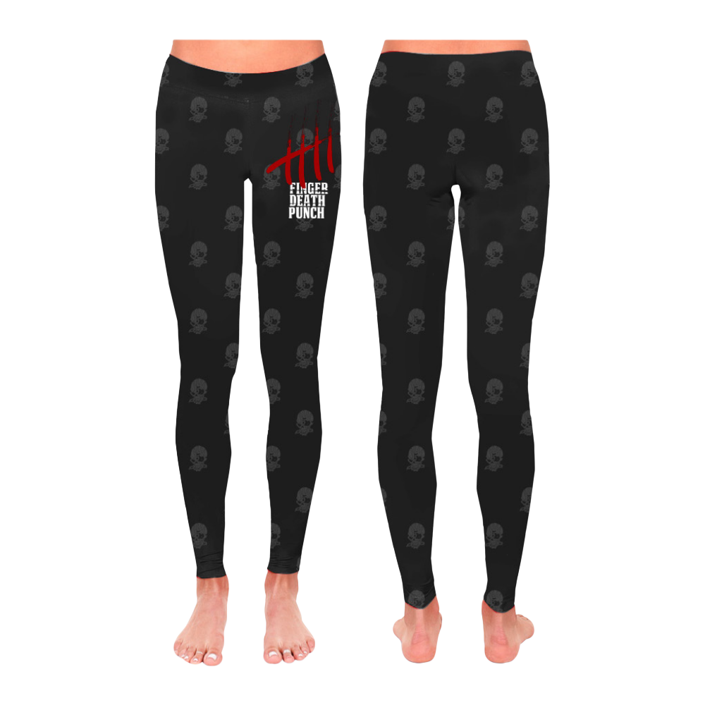 All-Over Skull Leggings
