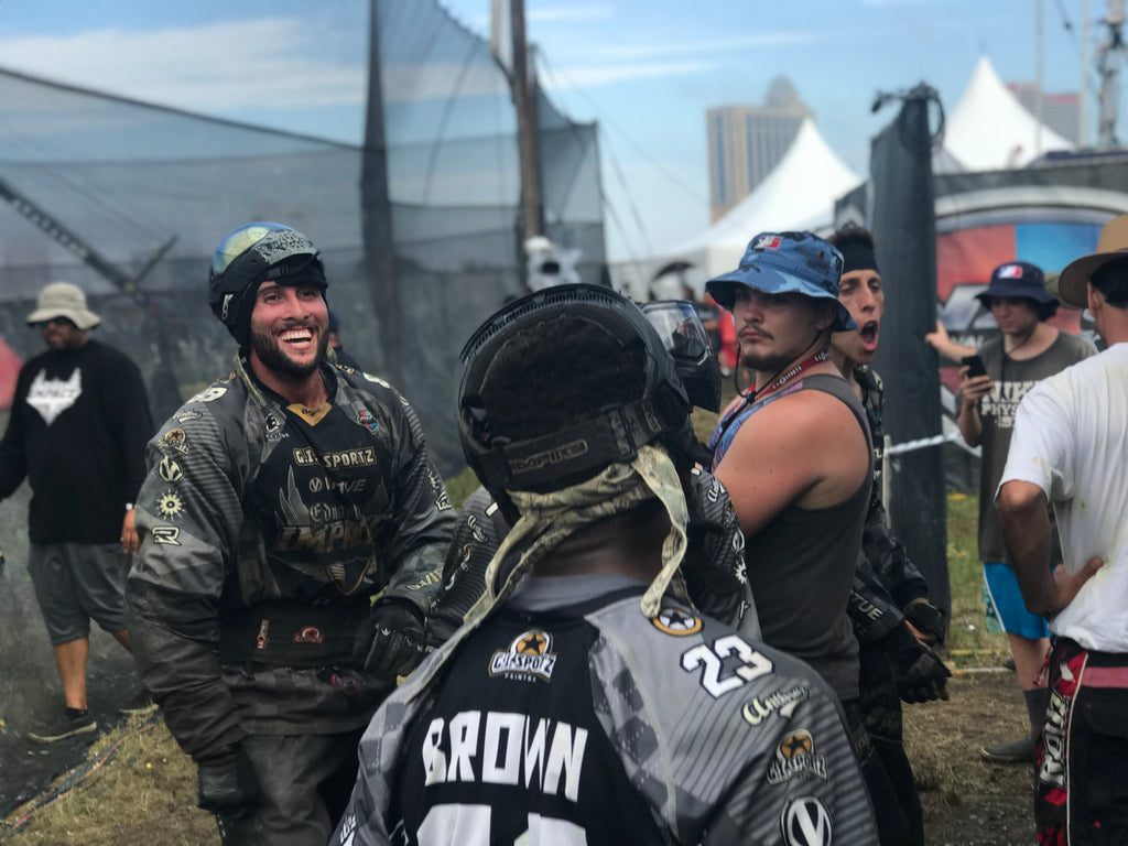 Becoming a better paintball player