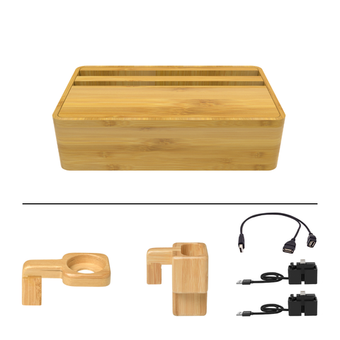 HybridX Wireless Compact Bamboo Apple Package