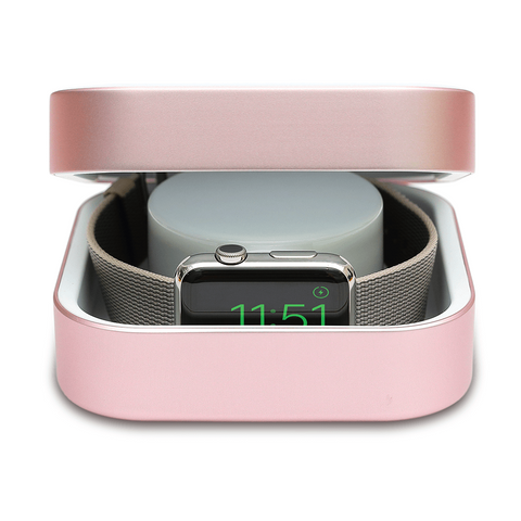 Apple Watch Charger Rose Gold