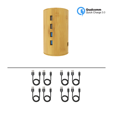 ALLDOCK Bamboo Tower Package