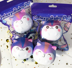 New! Galaxy Baby Fat Poli the Hamster SCENTED Slow Rising Squishy