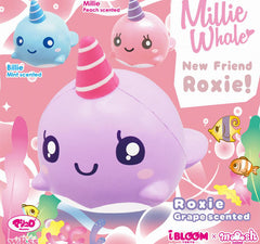 IBloom Millie Whale Scented Slow Rising Squishy, New Packaging!