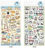Japan Nekoni Licensed Koniwa Kawaii Animals Stickers, Multi-Designs!