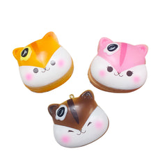 Popularbox Licensed Mini Poli Pancake SCENTED Slow Rising Squishy Charm