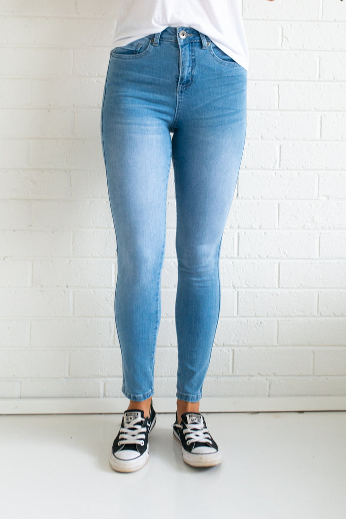 Khloe Jeans - Light Blue