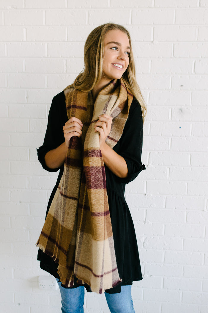 Heritage Check Scarf
