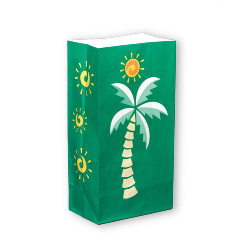 Luminaria Outdoor Decor, Palm Tree